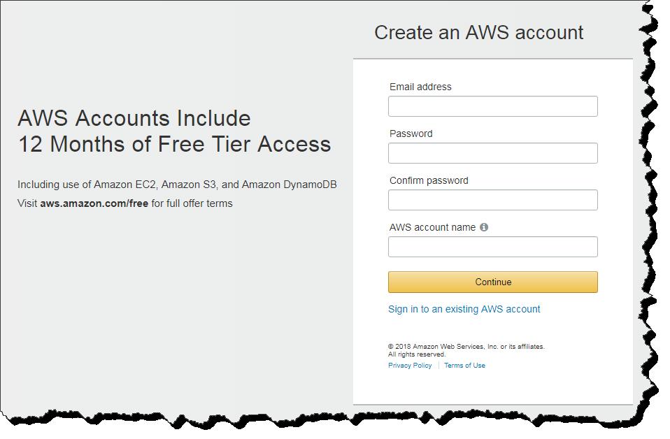 Create AWS Account | CloudAffaire