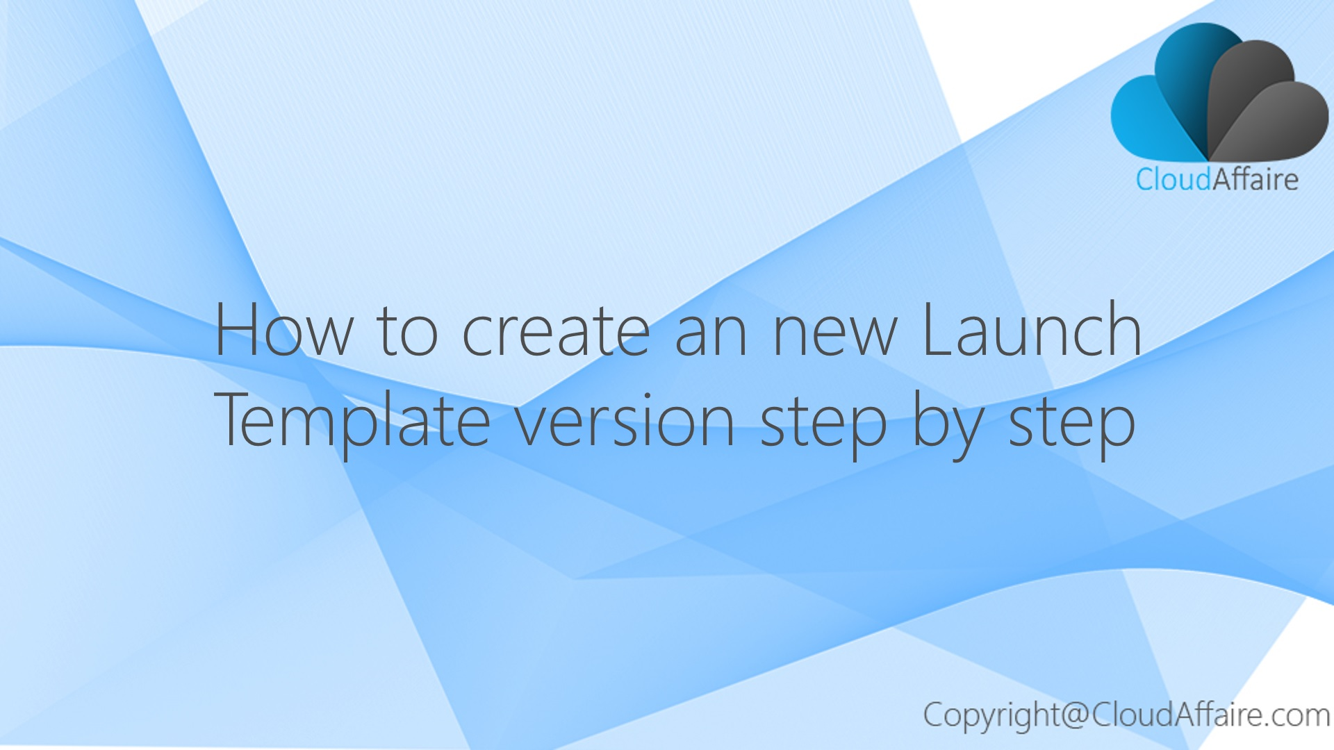 How To Modify A Launch Template