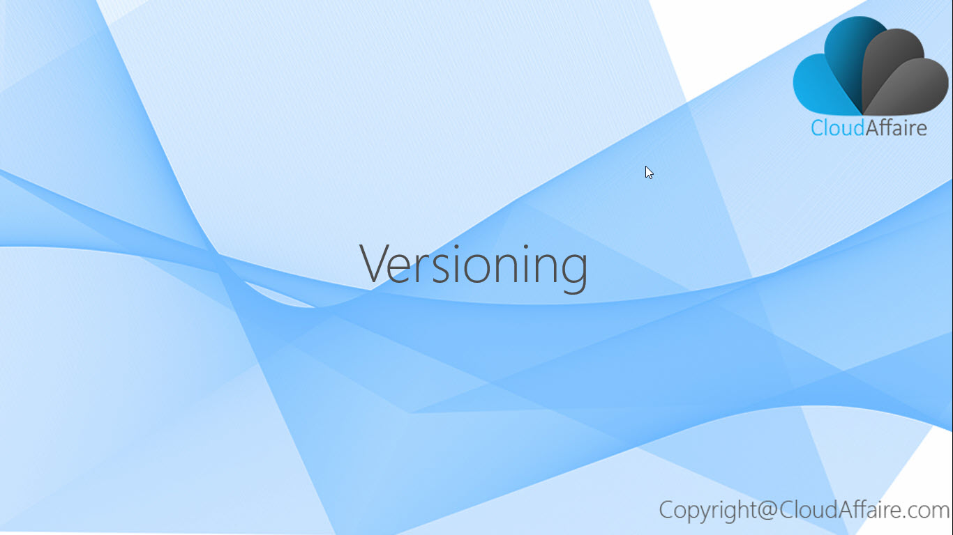 Versioning In S3