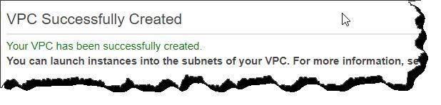Create a VPC using Launch VPC Wizard
