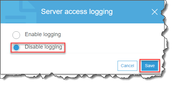 Server Access Logging