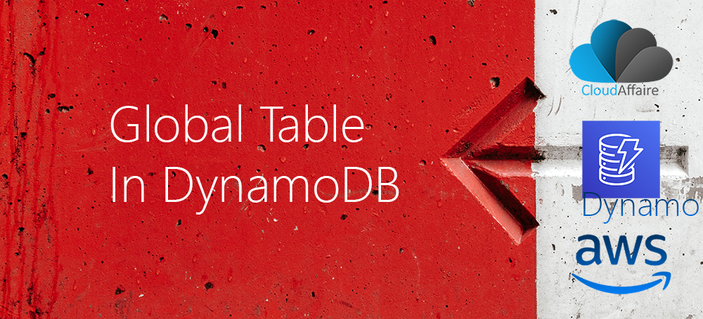 Global Table In DynamoDB