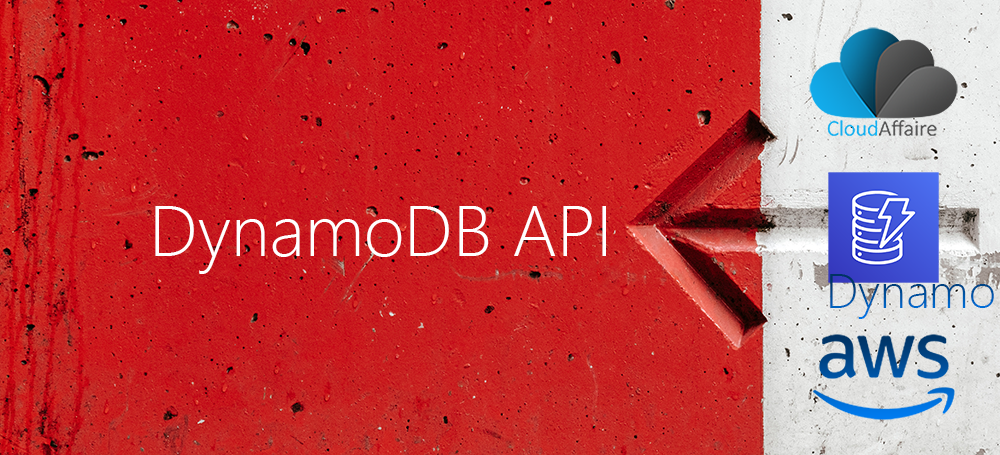 DynamoDB API – Part One