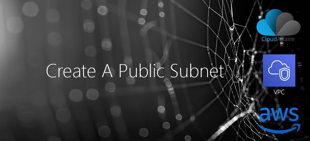 Create An Internet Gateway