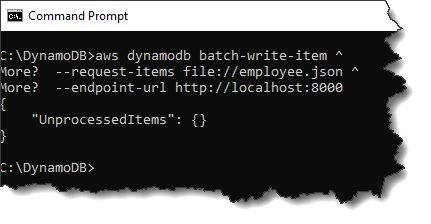 Secondary Indexes in DynamoDB