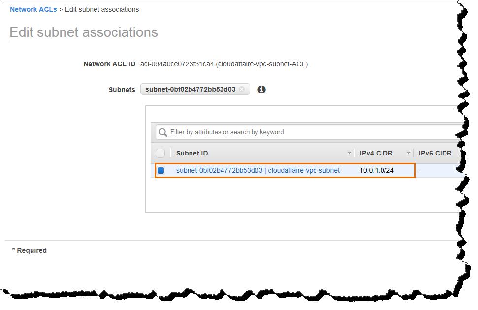 Create A Custom VPC Network ACL
