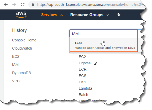 Secure AWS root account