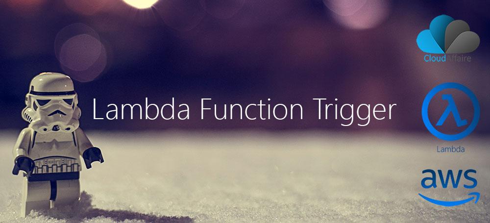 Lambda Function Trigger