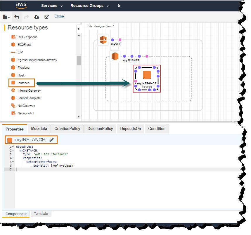 CloudFormation Designer | CloudAffaire