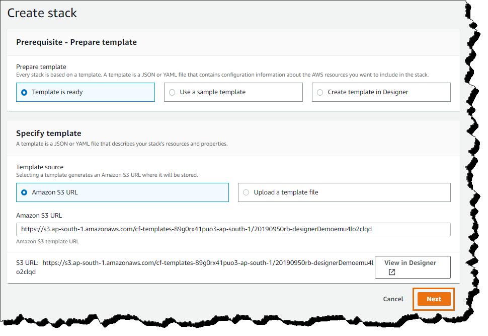 CloudFormation Designer