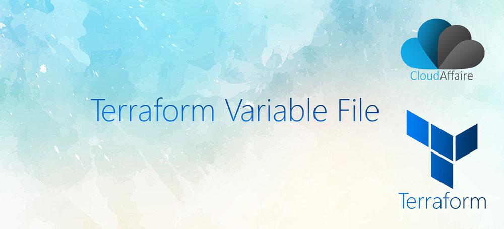 Terraform Variable File