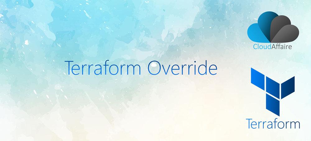 Terraform Override