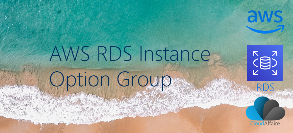 AWS RDS Instance Option Groups