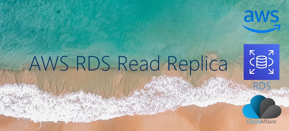 AWS RDS Read Replica
