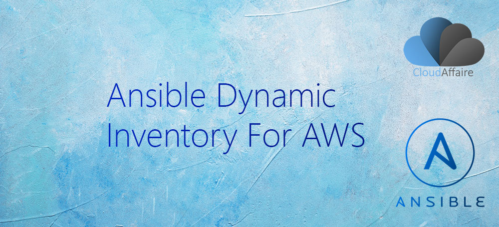 Ansible Dynamic Inventory For AWS