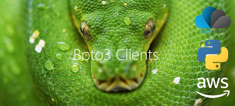 Boto3 Clients