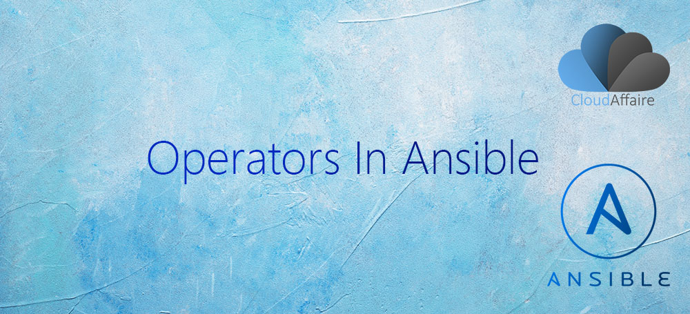 Operators In Ansible