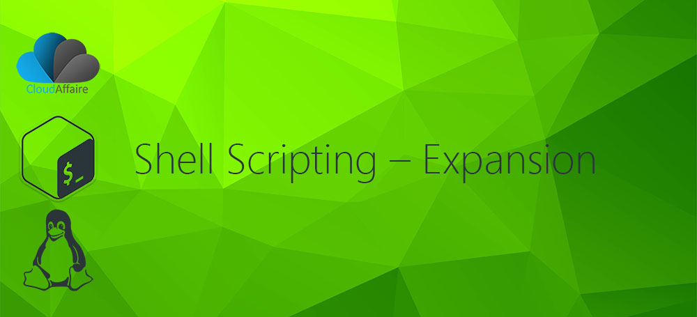 Shell Scripting – Expansion