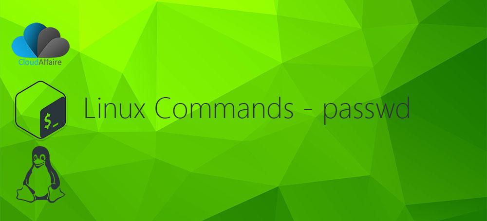 Linux Commands – passwd