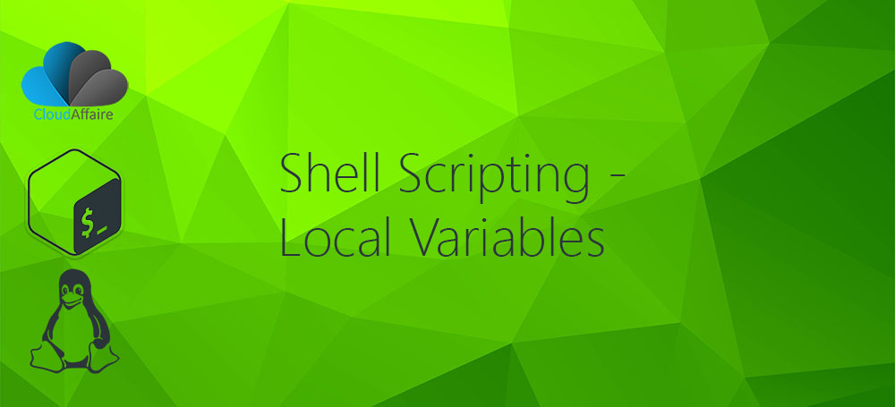 Shell Scripting – Local Variables
