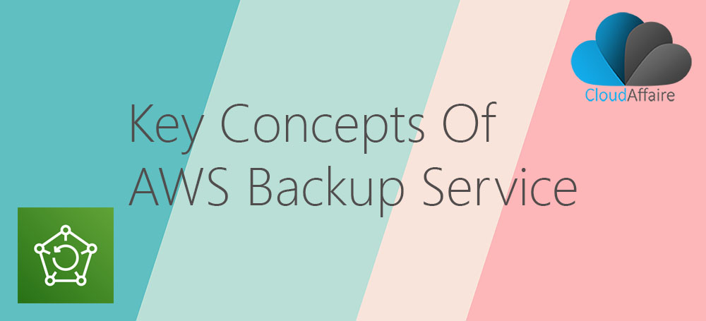 Key Concepts Of AWS Backup Service