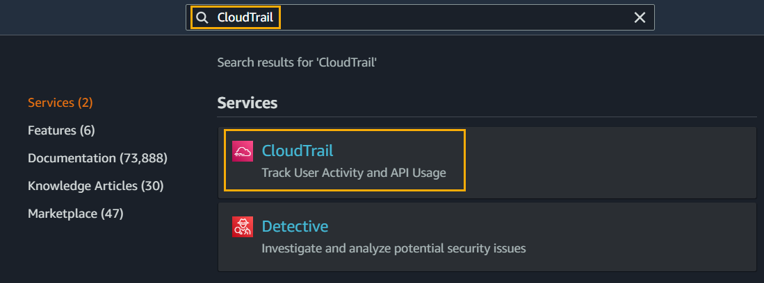 Getting Started With AWS CloudTrail